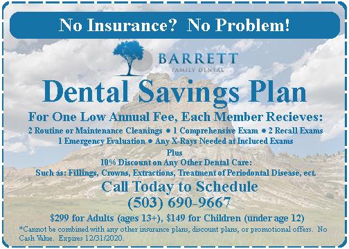 Dental Savings Plan Coupon
